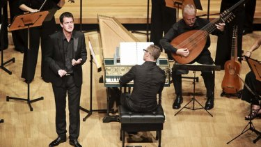 Philippe Jaroussky performs with the Australian Brandenburg Orchestra.