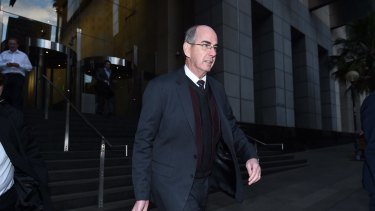 Terrence O'Brien appeared at the Child Abuse Royal Commission in 2015 for the the Jehovah's Witnesses
