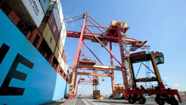 Strong foundation: Australian industry super funds are investing heavily in Sydney ports.