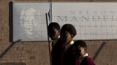 Although still revered, Nelson Mandela is increasingly a distant figure to a new generation of South Africans.