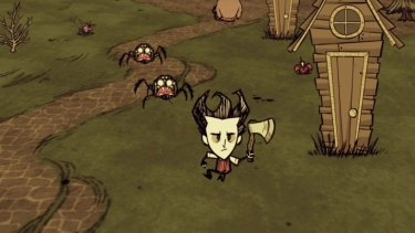 Don't Starve - Struggle to survive in a hostile but beautifully-rendered storybook wilderness.