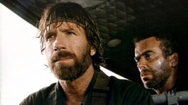 Action star Chuck Norris.