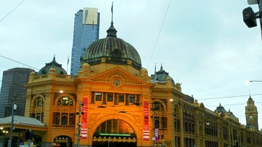 The task of restoring Flinders Street station to its original colours will begin later this year.