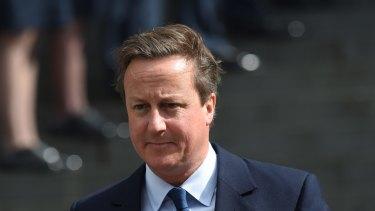 Controversy: David Cameron.