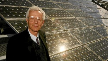Professor Diesendorf says solar, wind energy will be competitive with fossil fuels.