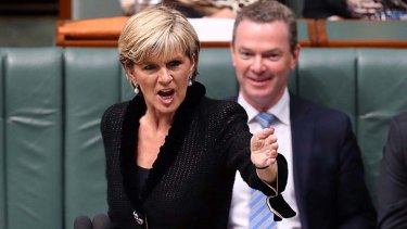 """The US and Australia are working to further our joint aims in space"": Julie Bishop."