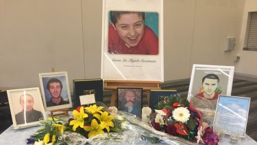 Aaron Pajich was remembered at his funeral as a gentle soul with a pure heart.