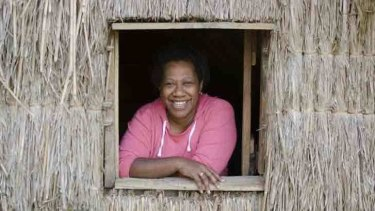 Shirley Laban, Oxfam's climate change manager in Vanuatu.
