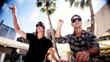 DJs Matt and Chris Stafford.