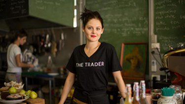 """""""There is certainly a lot of economic activity happening all over Darwin."""": Cafe owner Pippa Jane Ainsworth.?"""