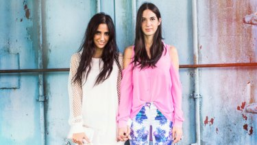 Yiota and Thessy Kouzokas: the pair with a flair for social media.
