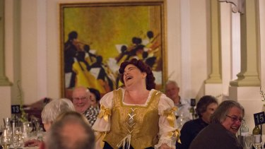 Opera Bites stages The Merry Wives of Windsor at the Castlereagh Hotel.