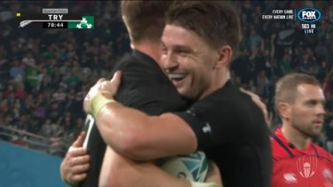 Ireland knocked out of the world cup quarter finals for the 7th time by an incredible New Zealand performance.
