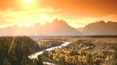 Grand Teton National Park in Wyoming.