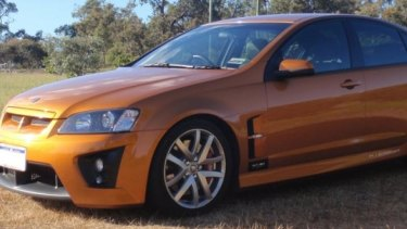 A Holden Clubsport was stolen and later found abandoned after the St James burglary.