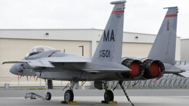 Two F-15 fighter jets were dispatched to follow the small plane as it flew towards Cuba.