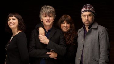 Alana Skyring, Neil Finn, Sharon Finn and Sean Donnelly.