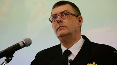 """Chief of Navy Vice-Admiral Ray Griggs: """"Based on everything I know there is no basis to these allegations - none."""""""