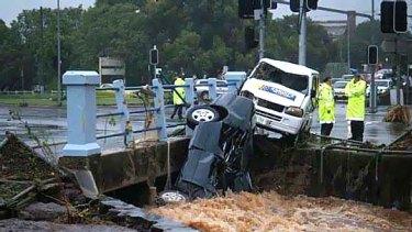 Freak wave passes through Toowoomba on January 10.