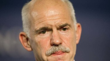 George Papandreou ... Deal done, but Greek PM will not stand for the leadership of the unity government.