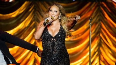 Mariah Carey (seen here performing in 2014) dedicated her famous love song to Packer.