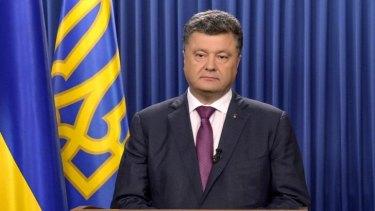 Ukrainian President Petro Poroshenko has called a snap election.