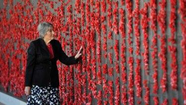 Memories: Patti Lomax visits the Australian War Memorial, Canberra.