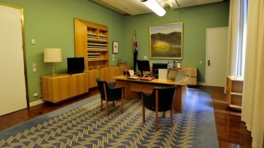 Former office holders say they did not use the Speaker's official Parliament House office for fundraisers.