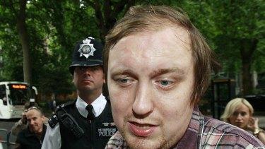 Jonathan May-Bowles arrives at court.