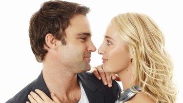 Patrick (Matthew Le Nevez) and Nina (Asher Keddie) from Network Ten drama <em>Offspring</em>.
