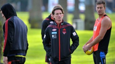 Hird took full responsibility for his football department, but now, like so many others at Essendon, is apportioning blame elsewhere.