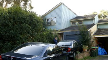 The home of accused terror suspect Tamim Khaja in Macquarie Park.
