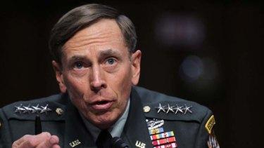 Extraordinary measures ... General David Petraeus.