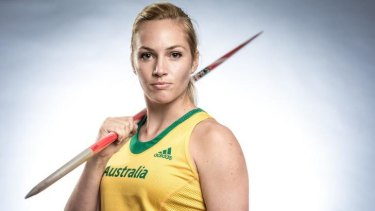 Canberra javelin thrower Kelsey-Lee Roberts has been training with biomechanists in an effort to refine her technique.