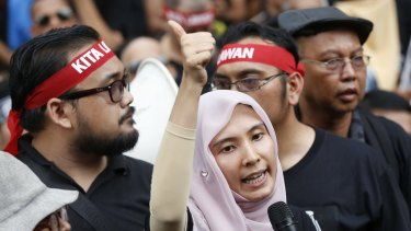 Nurul Izzah Anwar, daughter of jailed Malaysian opposition leader Anwar Ibrahim, believes the actions of Malaysian Prime Minister Najib Razak merely illustrate the festering state of the country's corrupt political system.