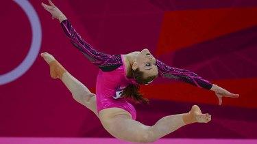 Graceful ... Lauren Mitchell.