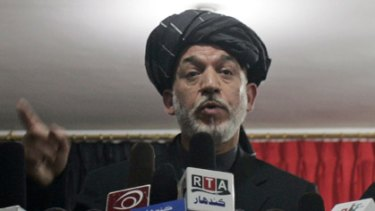 Hamid Karzai... remarks seen as a move away from the US.