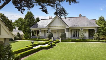 Millionaire Peter Dewitt's mansion at 16 St Georges Road, Toorak, is up for sale.