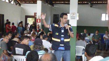 Mariana mayor Duarte Junior is opposed to closing down the mine.