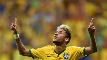 Neymar is Brazil's go-to man.
