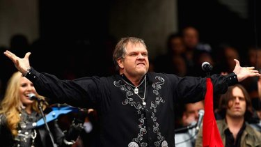 Meat Loaf ...  A damp squib.