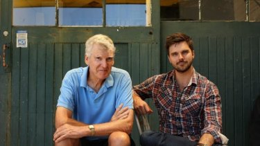 Home, Sweet Home: David Williamson directs Guy Edmonds in his latest play, <i>Dream Home</i>.