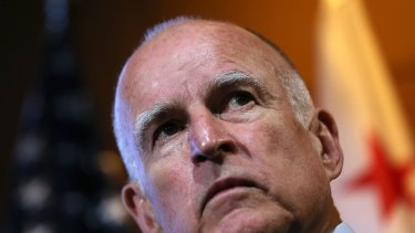 California's Governor Jerry Brown