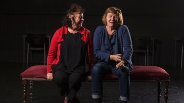 Theatre makers Susie Dee (left) and Patricia Cornelius make gritty, powerful works and their latest work, <i>Big Heart</I>, tackles the fears and prejudices embedded in Australia's identity.