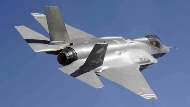 F-35 Joint Strike Fighter: Reportedly compromised.