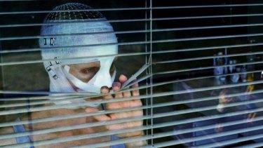 Susanne Wuerst in the Austrian horror film <i>Goodnight Mommy</i>.