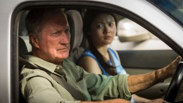 Bryan Brown and Jenny Wu, like the rest of the cast in Australia Day, have a message to deliver.