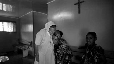 Sister Rose Bernard of the Shalom Centre at Banz, one of the religious organisations that run half of PNG's health services.