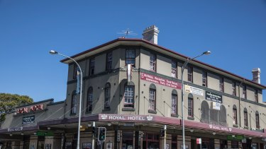 Part of Justin Hemmes' pub stable now: The Royal Hotel on Bondi Road was established in 1904 and hosted the first meeting of the Bondi Lifesaving Club three years later.