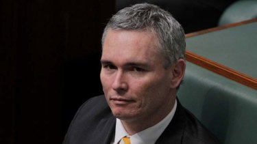 At the centre of the mire ... MP Craig Thomson.